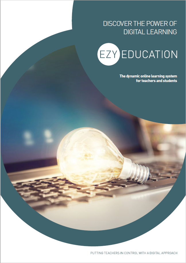 EzyEducation Corporate brochure cover