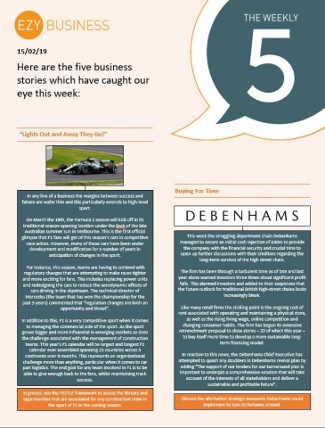 The Business Weekly 5 - 15th February