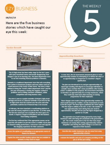 Business Weekly 5 - 8th March