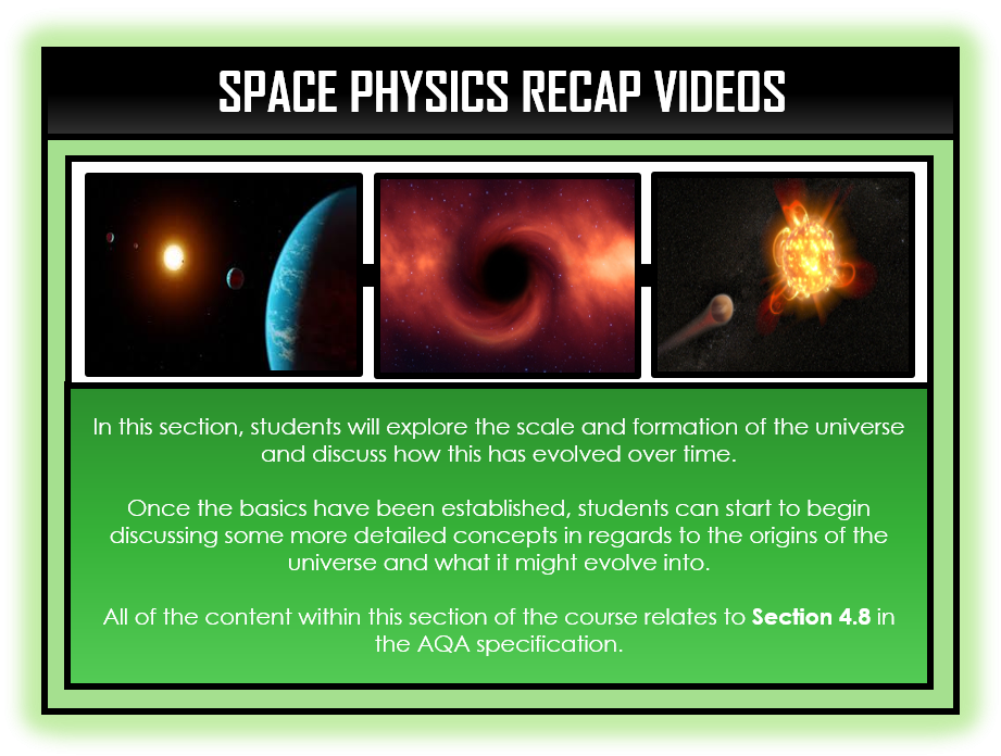 Physics Snapshots - Space Physics Section