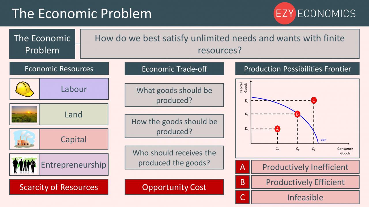 Year 12 Recap - The Economic Problem