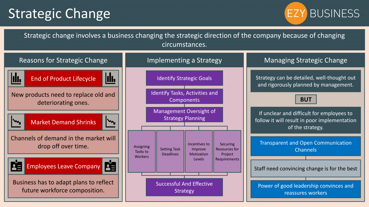 Business Studies Year 13 revision Day 10 - Strategic change