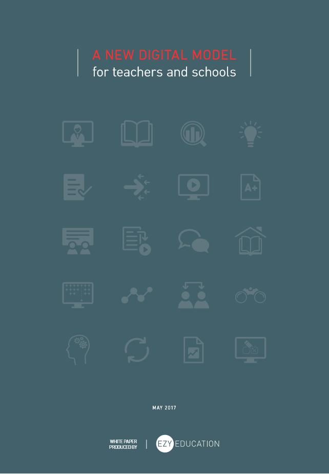 A new digital model for teachers and schools